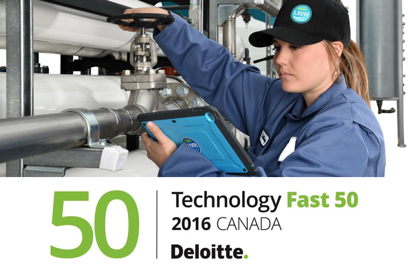 Livestock water recycling named one of Deloitte's Technology Fast 50™ companies