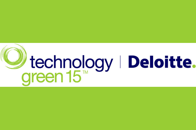 2013 Deloitte Technology Green 15 Award