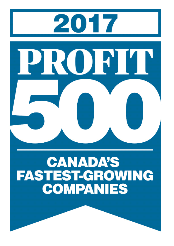 LWR RANKS No. 241 ON THE NATION WIDE 2017 PROFIT 500 LIST  Canadian Business Unveils 29th Annual List of   Canada's Fastest-Growing Companies