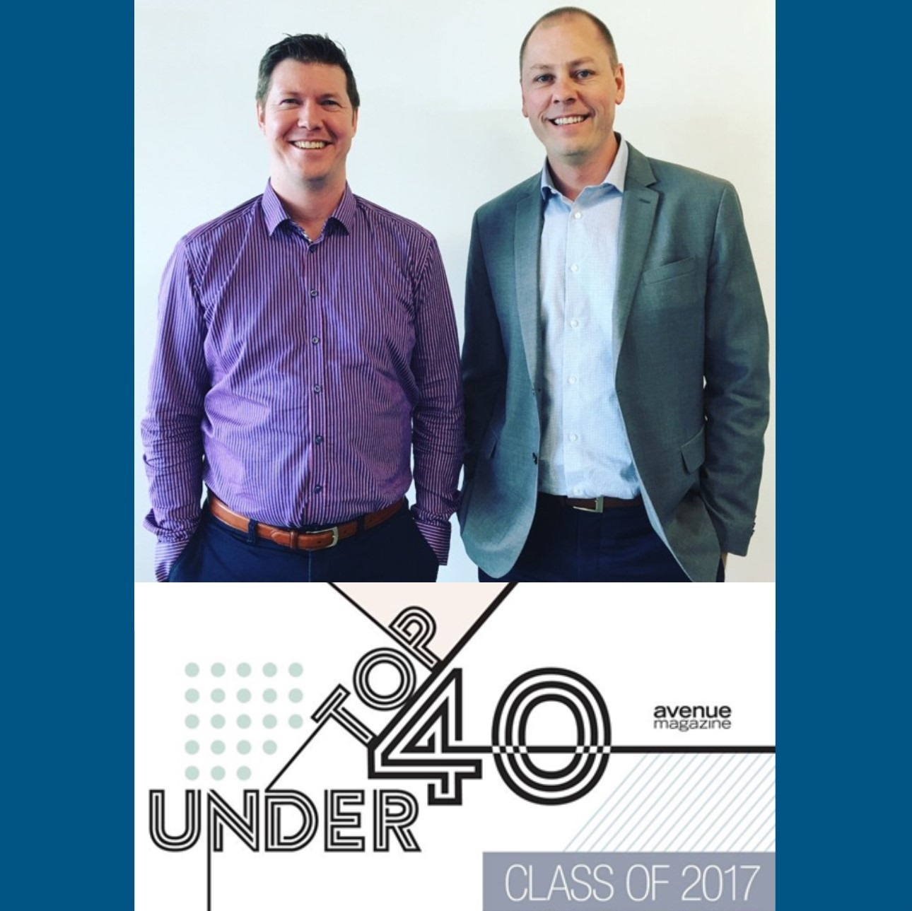 Brooks and Jenkins Named Top 40 Under 40